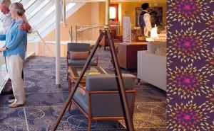 Axminster carpet for ships