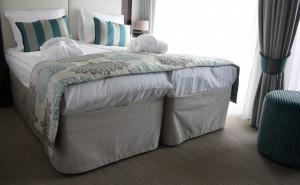 Cabin carpet on river cruise