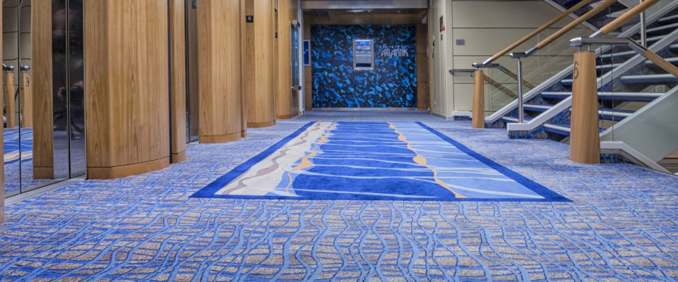 Marine Corridor Flooring